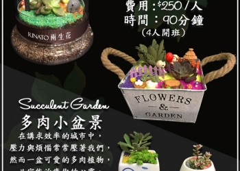 Succulent Garden & Workshop